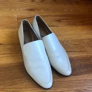 Calvin Klein Leather Loafers White